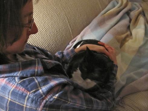Elisa & Millie - December 5, 2011