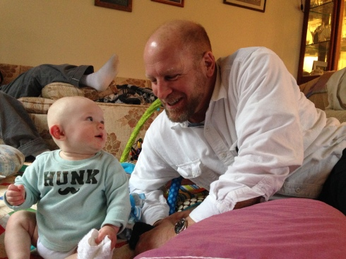 Todd meets his Uncle Darren - March 11, 2015