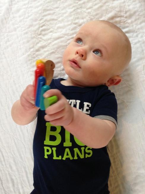 Little Dude, Big Plans -  March 14, 2015