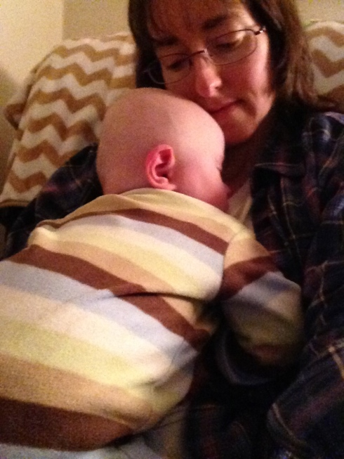 Snuggles before bed - March 17, 2015