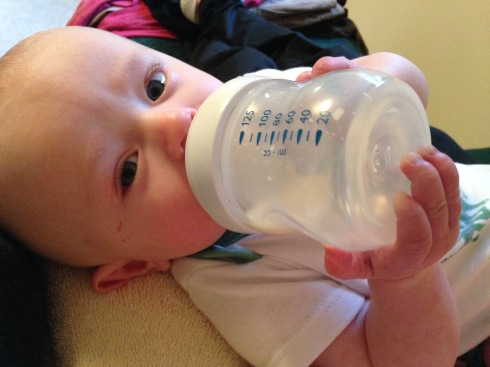 5 months old - January 23, 2015
