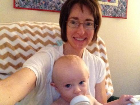 Bottle bonding with Elisa - August 30, 2015