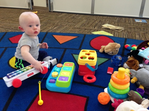1st play group - Kaleidoscope Play & Learn - April 29, 2015