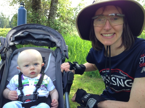 Rollerblading on the Centennial Trail - May 9, 2015