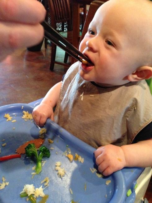 Dining at Blossom Vegetarian - May 16, 2015