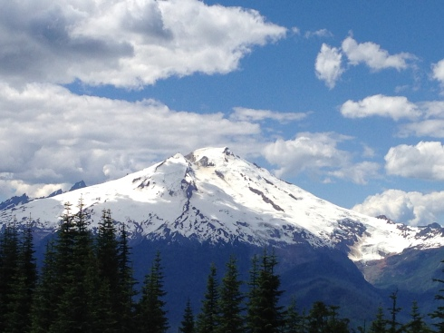 Mt Baker from the Anderson Creek Road
