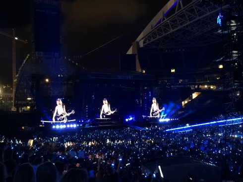 Taylor Swift at Century Link Field - Seattle, WA - August 8, 2015