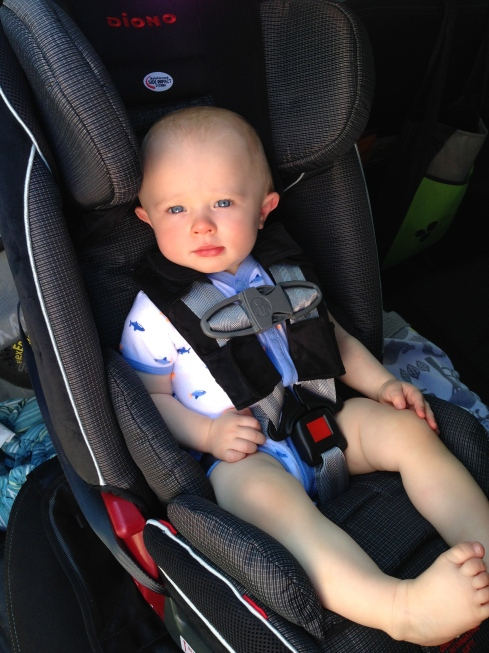 New car seat - July 28, 2015