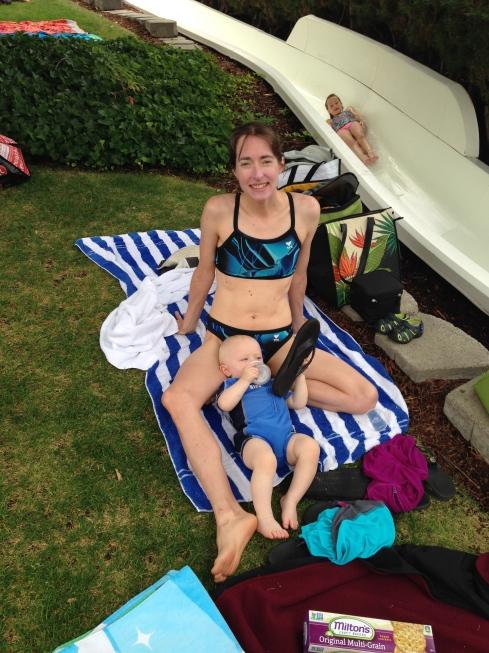 Elisa & Todd at Slidewaters - August 11, 2015