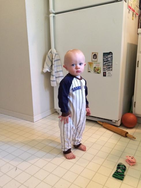 Little ball player - October 1, 2015