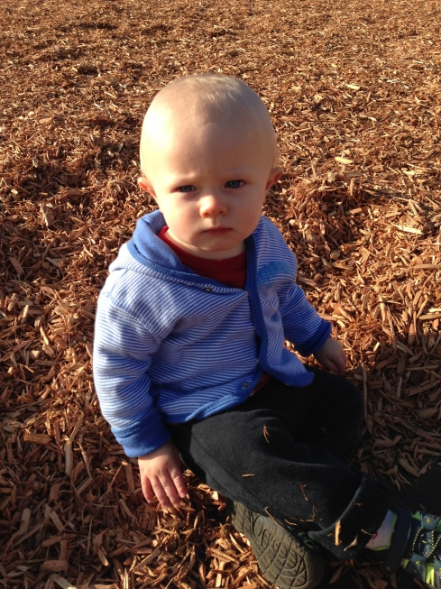 At the school playground - October 23, 2015
