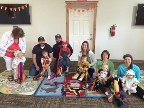 Kindermusik class (photo by Shelley)- October 27, 2015