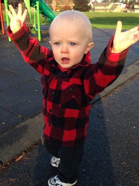 14.5 months old - November 5, 2015