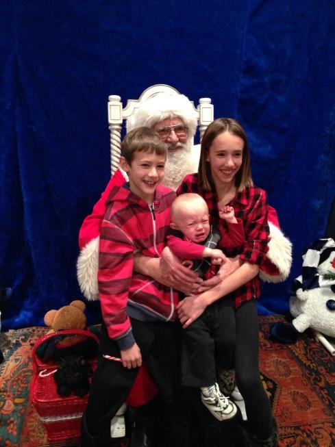 Scared of Santa - November 28, 2015