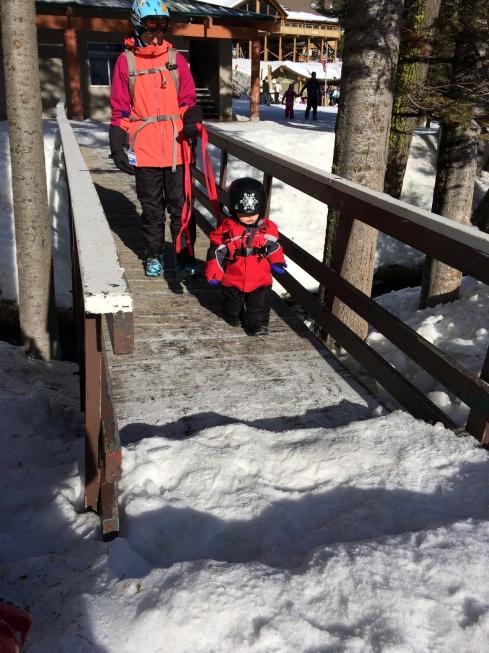 Mission Ridge ski area - February 13, 2016