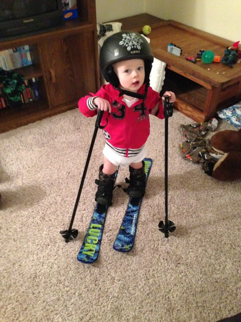 Ready to ski - January 30, 2016