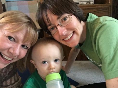 Visit from Todd's Aunt Sandie - March 2, 2016