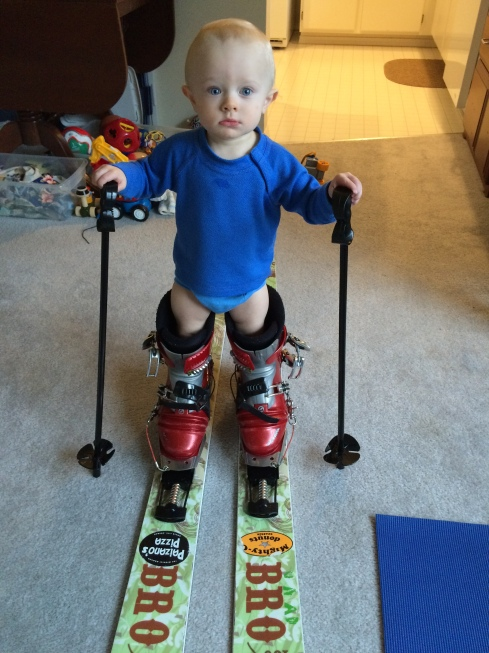 Dada's skis - March 22, 2016