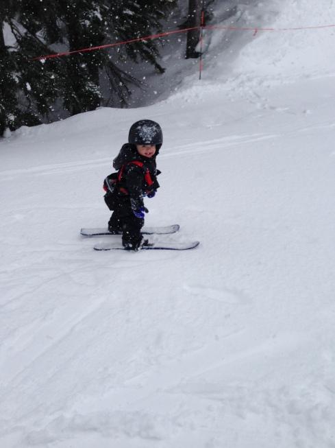 Stevens Pass Ski Area - March 27, 2016