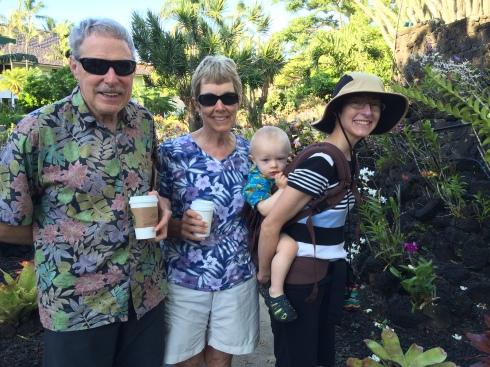 Todd's grandpa & grandma, Todd & Elisa - May 30, 2016