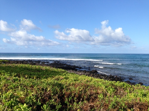 View from Waiohai Beach Club - May 28, 2016