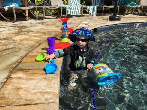 At the pool - May 28, 2016