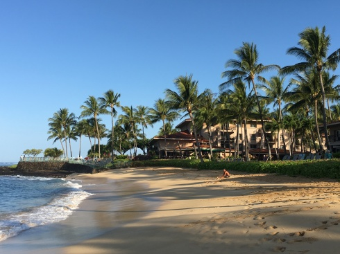 Poipu Beach at Marriot's Waiohai - May 29, 2016