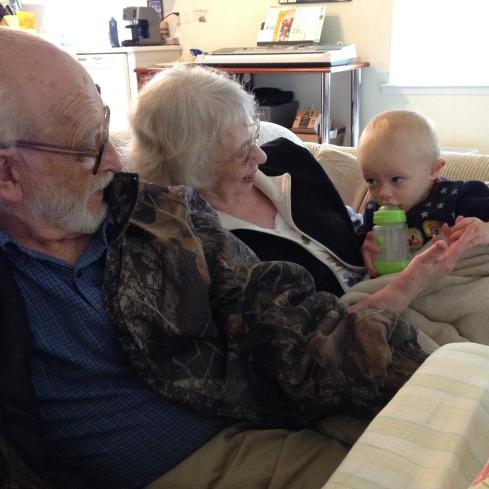 Todd's Granddad & Grammie - May 26, 2016