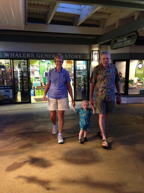Todd & his Grandma & Grandpa - June 2, 2016