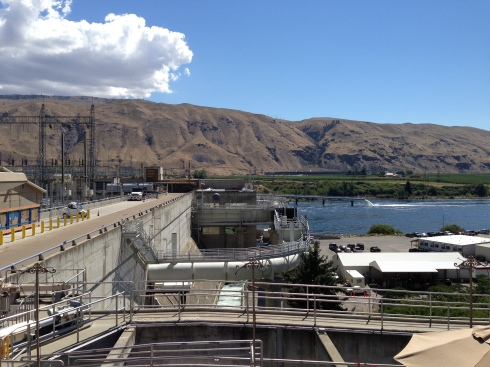 Rocky Reach Dam - August 11, 2016