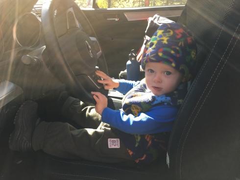 Driver's seat - September 20, 2016