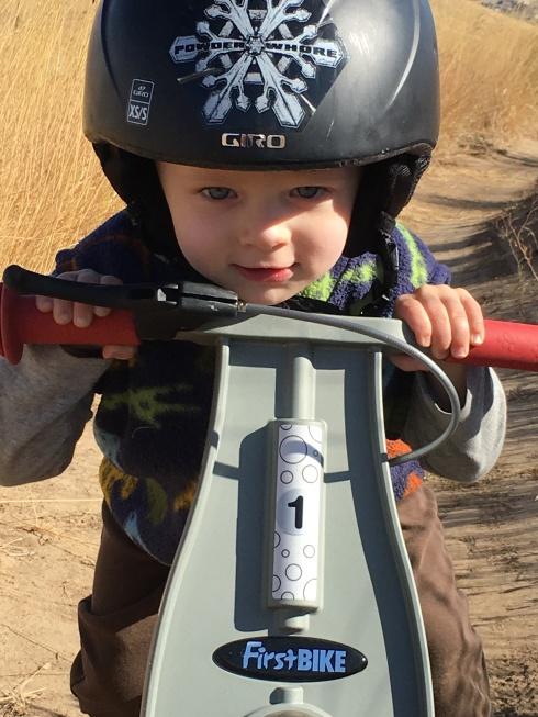 Biking at Horse Lake Reserve - October 1, 2016