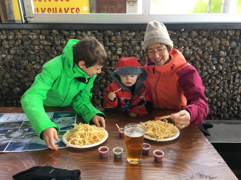 Apres-ski fries - December 22, 2016