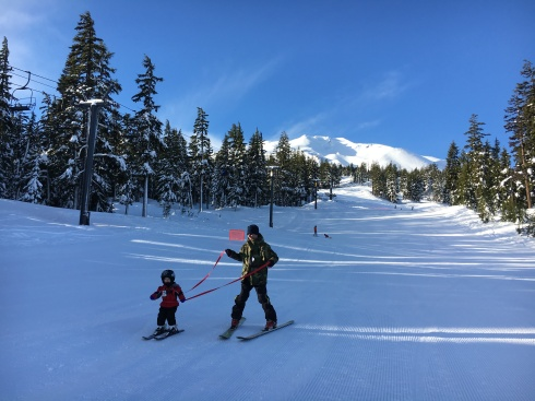 Eric & Todd at Mt Bachelor - December 22, 2016