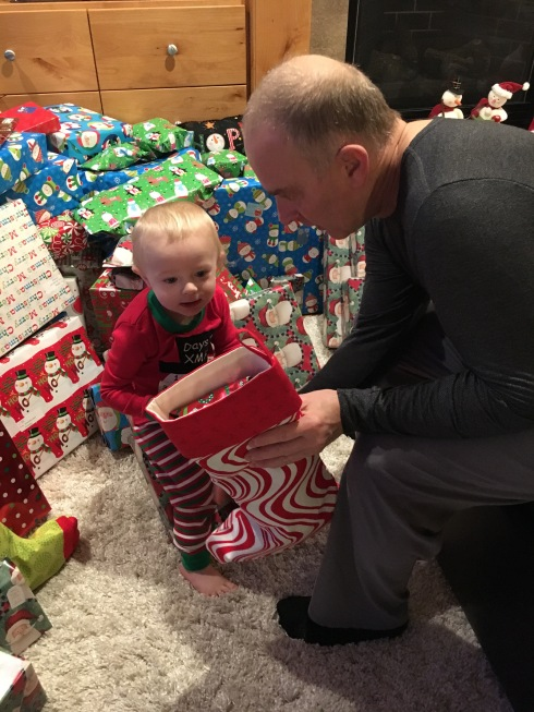 Todd's 3rd Christmas morning - December 25, 2016